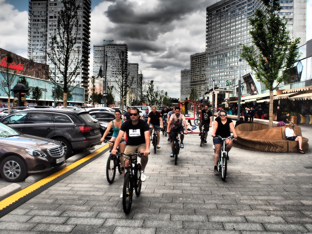 Essential and Brief Moscow Bike tour