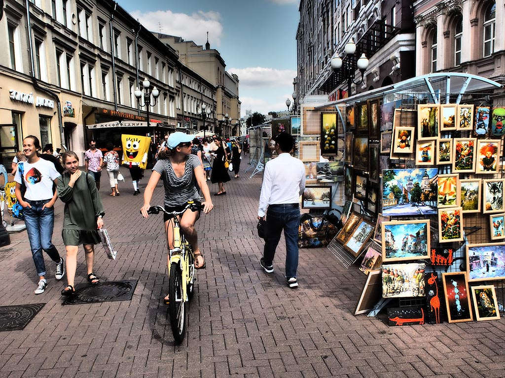 Short and Sweet Moscow Bike tour
